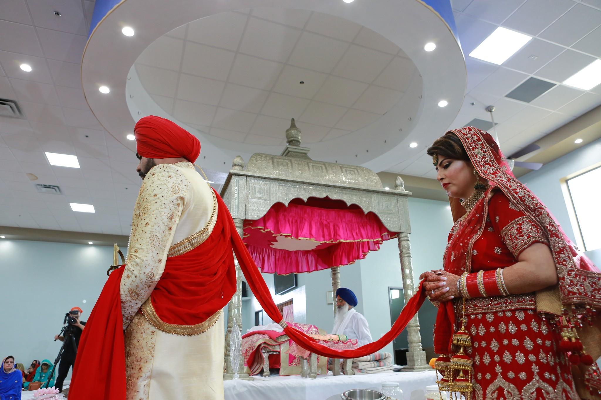 Punjabi Wedding Photographers in Houston & Dallas